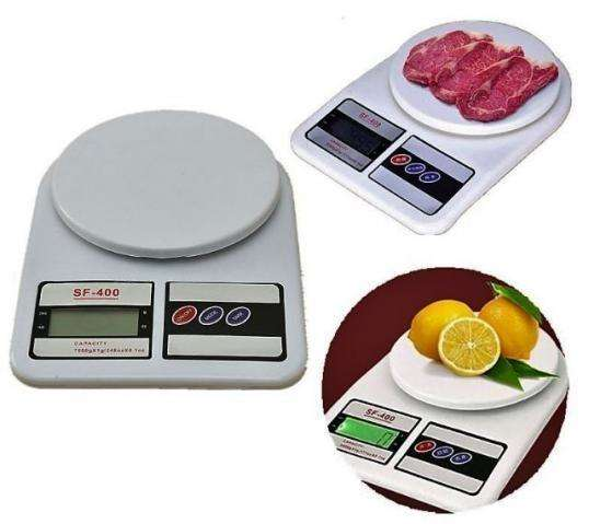 Báscula pesa gramera electrónica digital para cocina 7 kg Envío Gratis