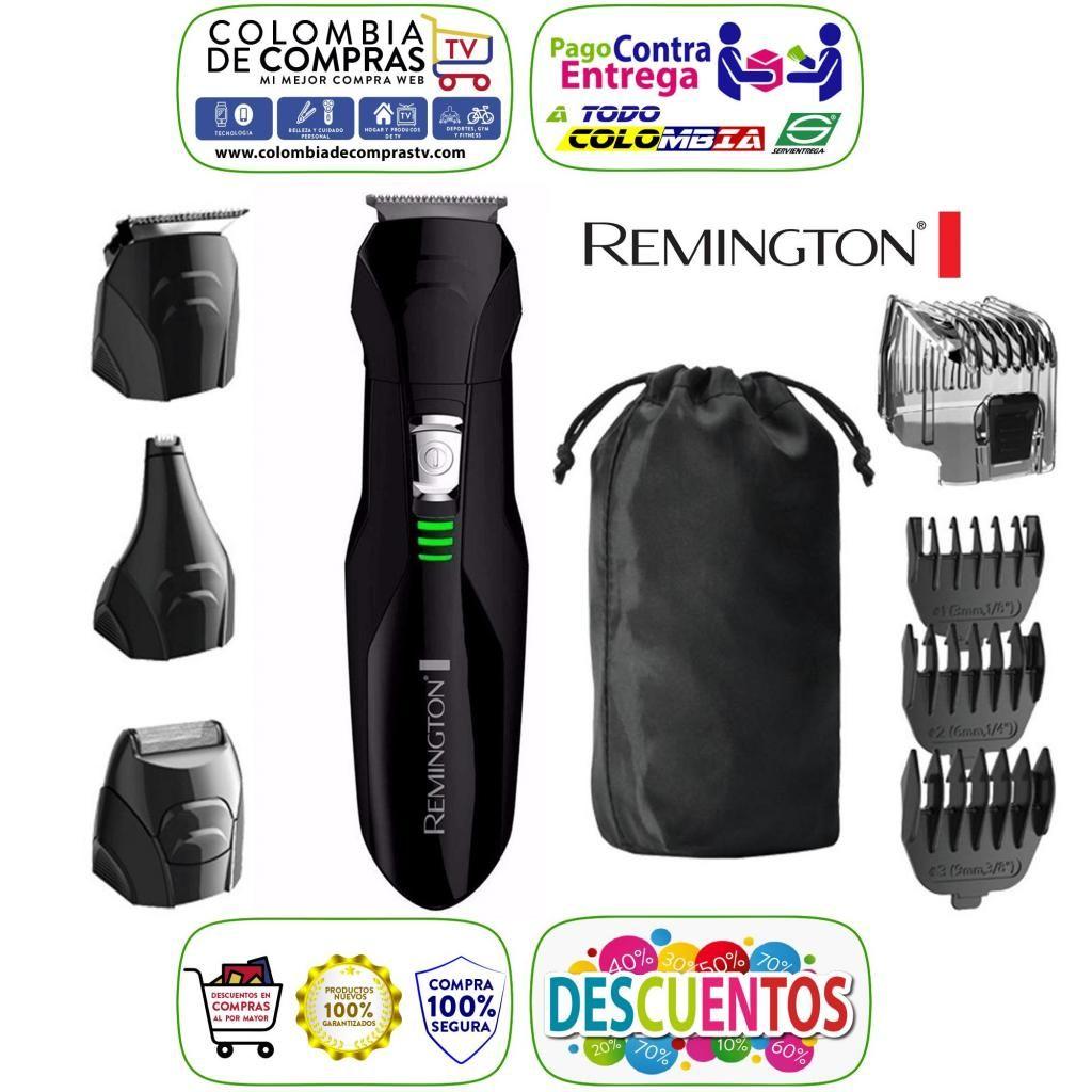Kit De Corte Perfilador Afeitadora Remington Todo En 1 Lithium Power, 100 Original, Nuevos, Garantizados...