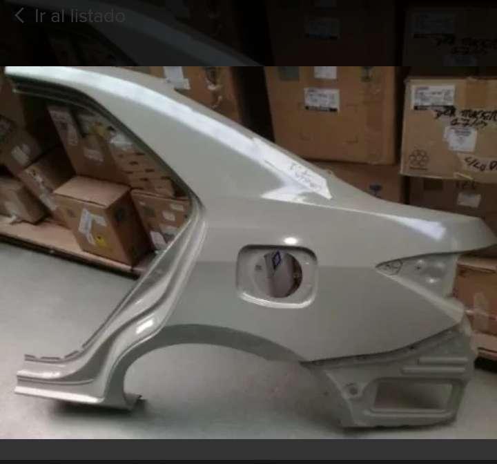 VENDO Nuevo guardabarro Toyota corolla xei