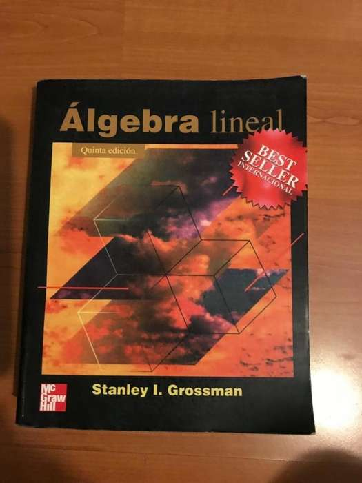 LIBRO ALGEBRA LINEAL STANLEY GROSSMAN
