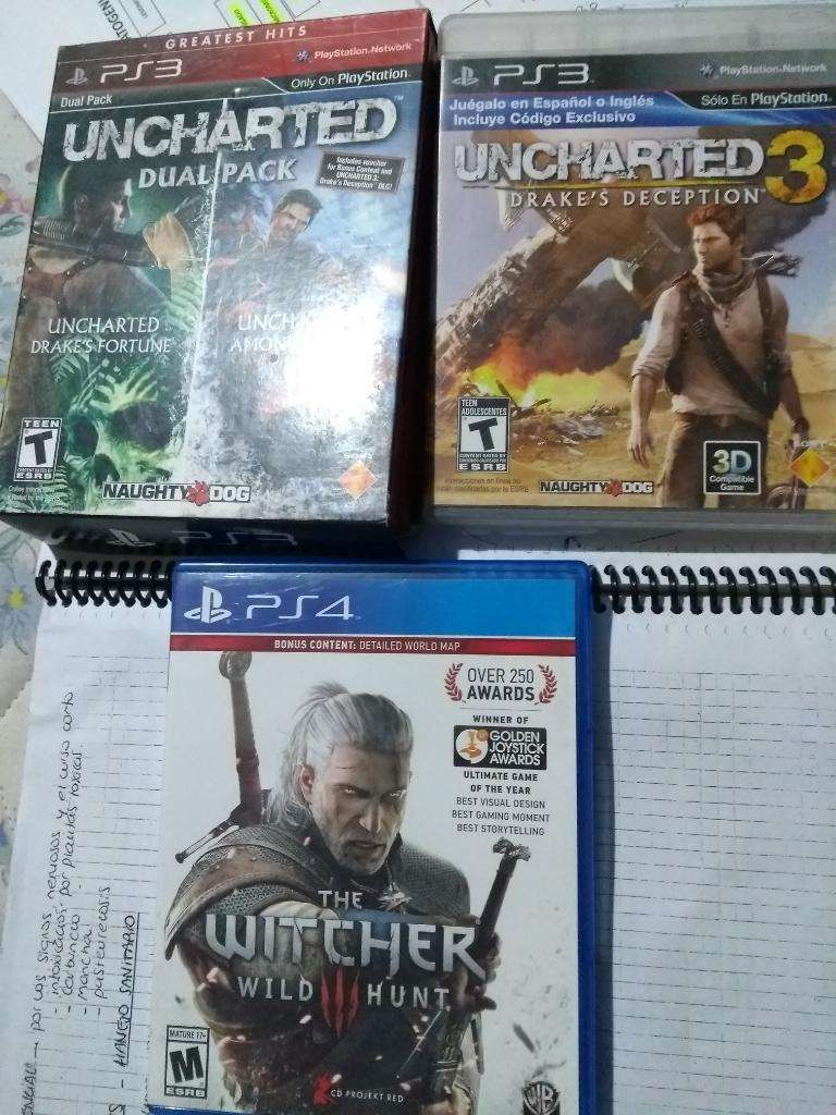 The Witcher Y Uncharted