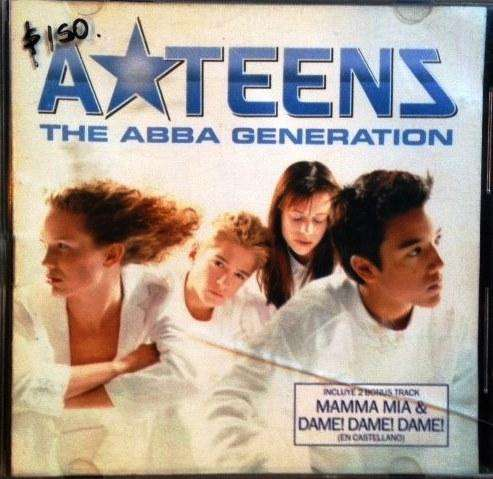 CD ATEENS THE ABBA GENERATION