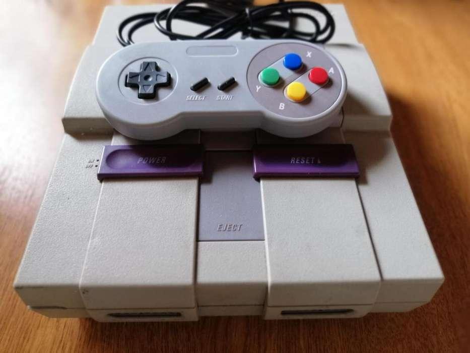 Super Nintendo Snes ORIGINAL VENTA O CAMBIO