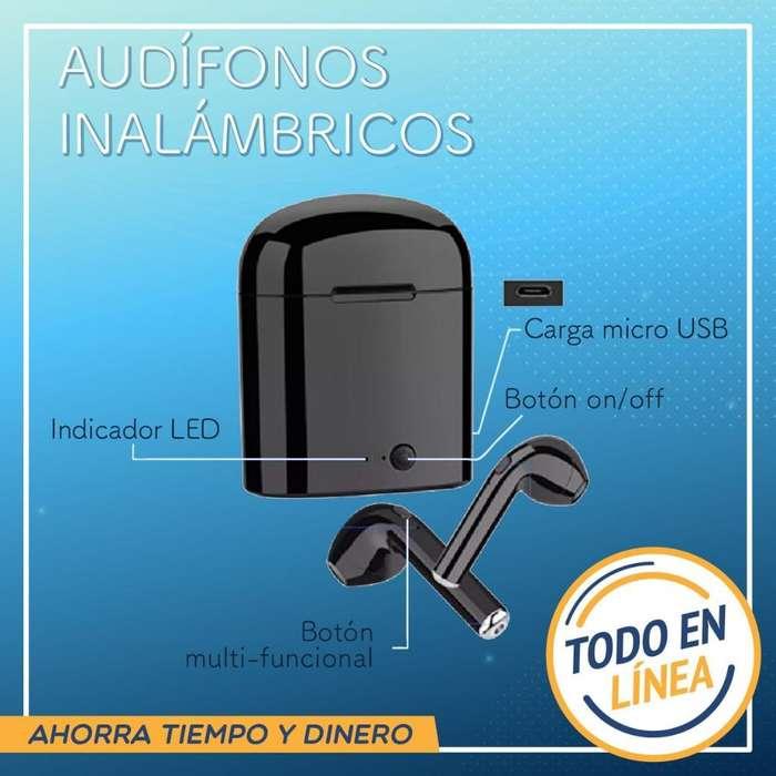 Audifonos Inhalambricos Recargable Nuevo