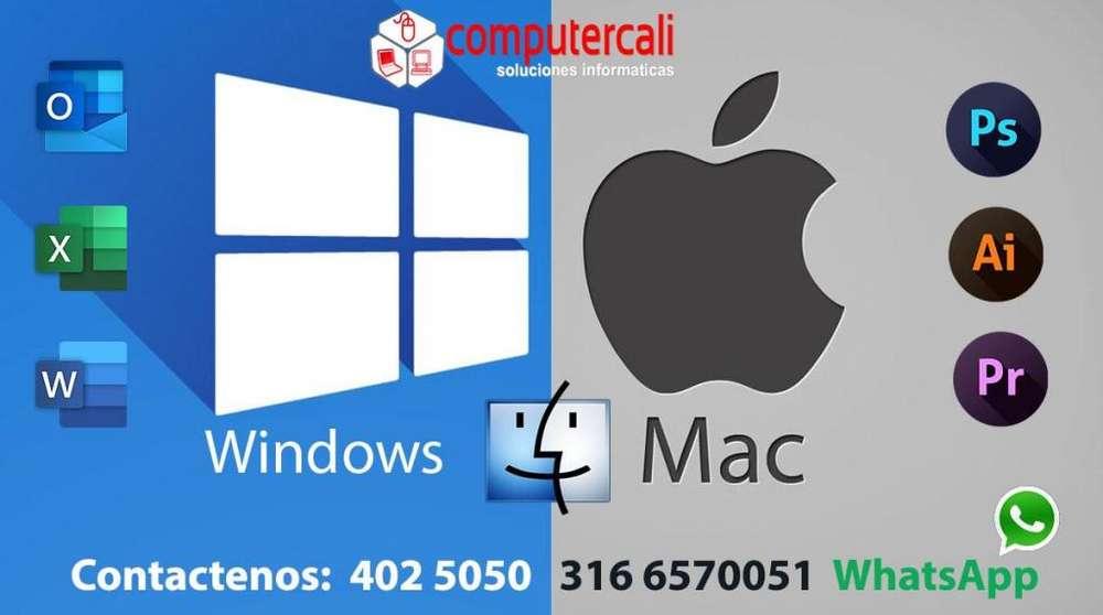 Instalación de programas Para windows y Apple Tel: 4025050 3166570051 WhatsApp