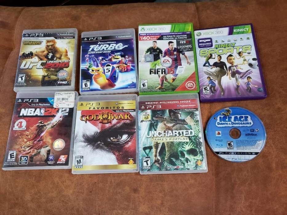 Vendo O Cambio Juegos de Ps3 Y Xbox