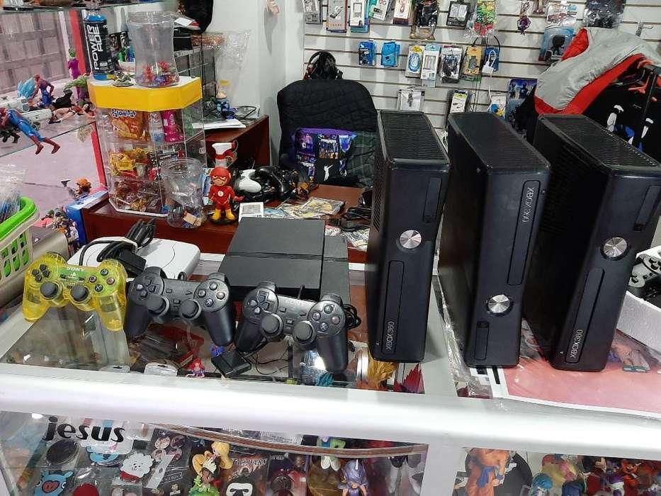 Ps2 Y Xbox 360 en Venta