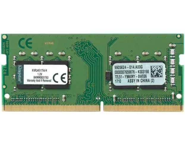 Memoria RAM 4GB Ddr4 2400MHz Sodimm