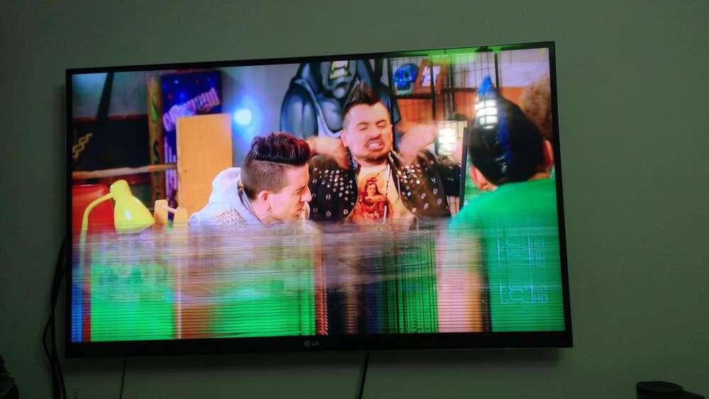 Televisor de segunda funciona normal, pero tiene lineas horizontales