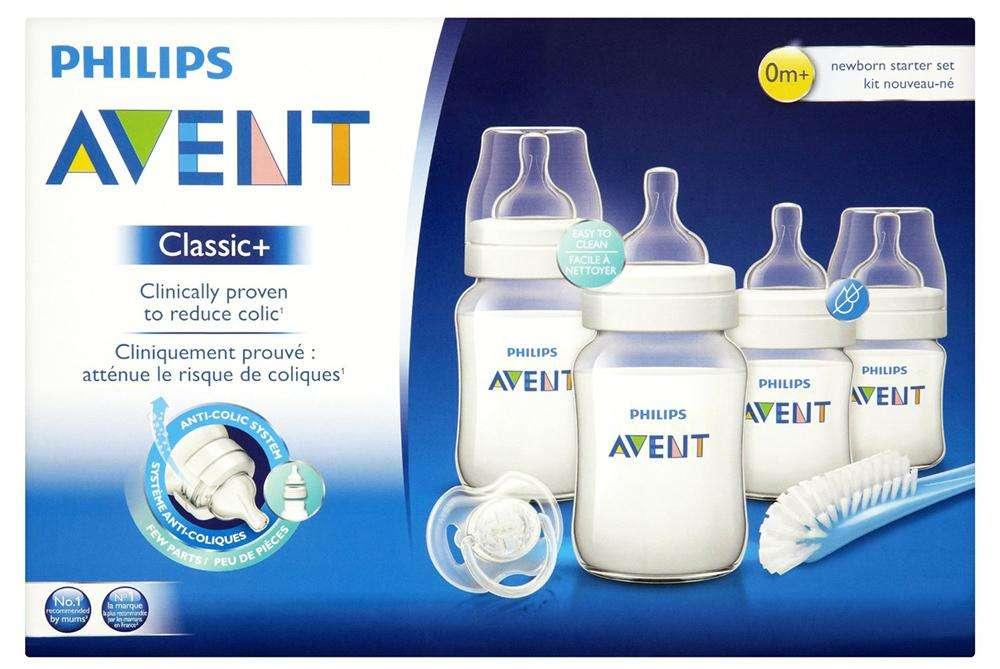 set de teteros anticolicos bebe avent philips CLASSIC original MEGA OFERTA