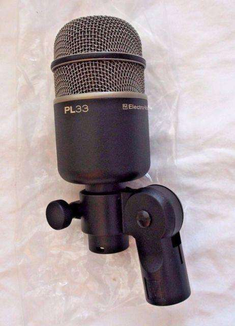 MICROFONO ELECTRO VOICE PL 33