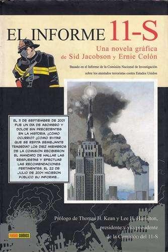 Libro: El informe 11S, de Sid Jacobson y Ernie Colón [novela gráfica]
