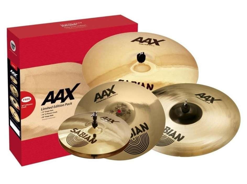 Sabian Aax Set