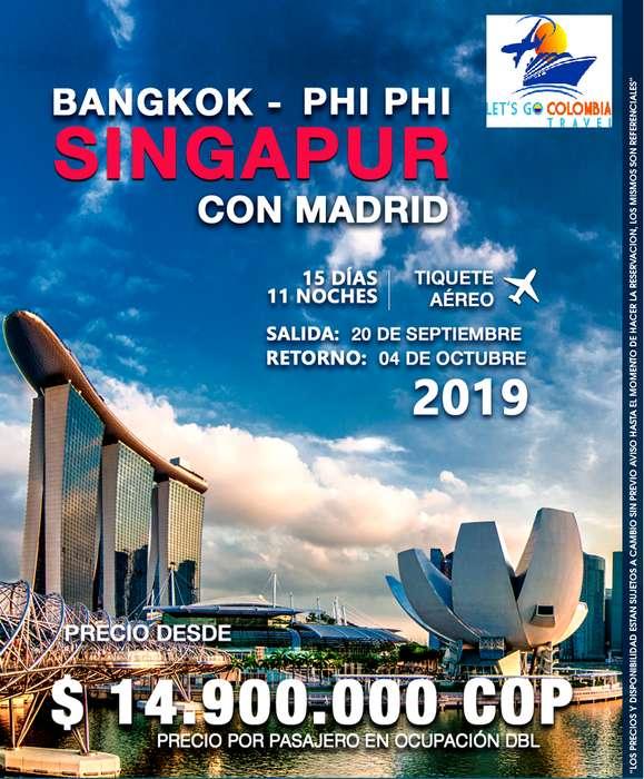 Singapur con Madrid