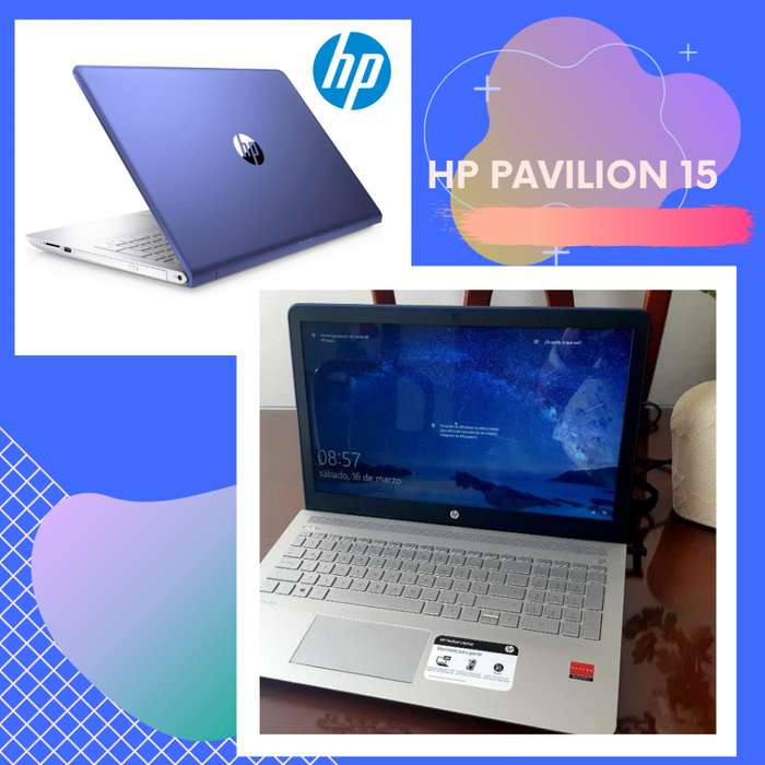 Laptop Hp Pavilion 15 Azul