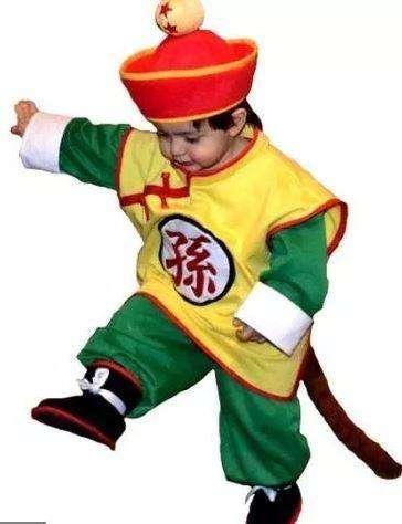 Disfraz de Gohan Bebé