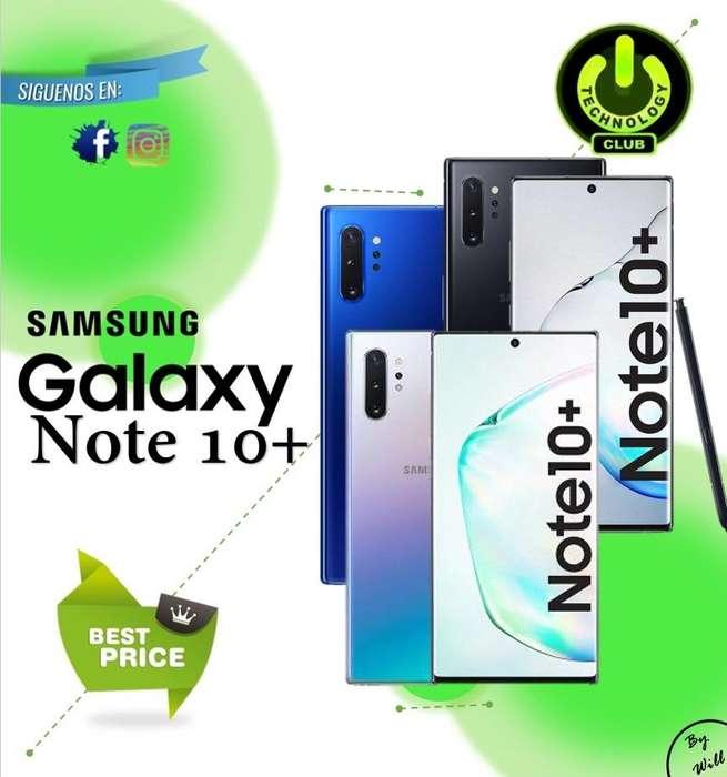 Samsung Galaxy Note 10 Plus tope de gama / Tienda física Centro de Trujillo / Celulares sellados Garantia 12 Meses