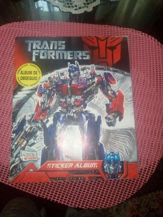Transformers Album lleno