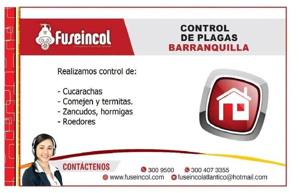 FUMIGACION Y CONTROL DE PLAGAS BARRANQUILLA