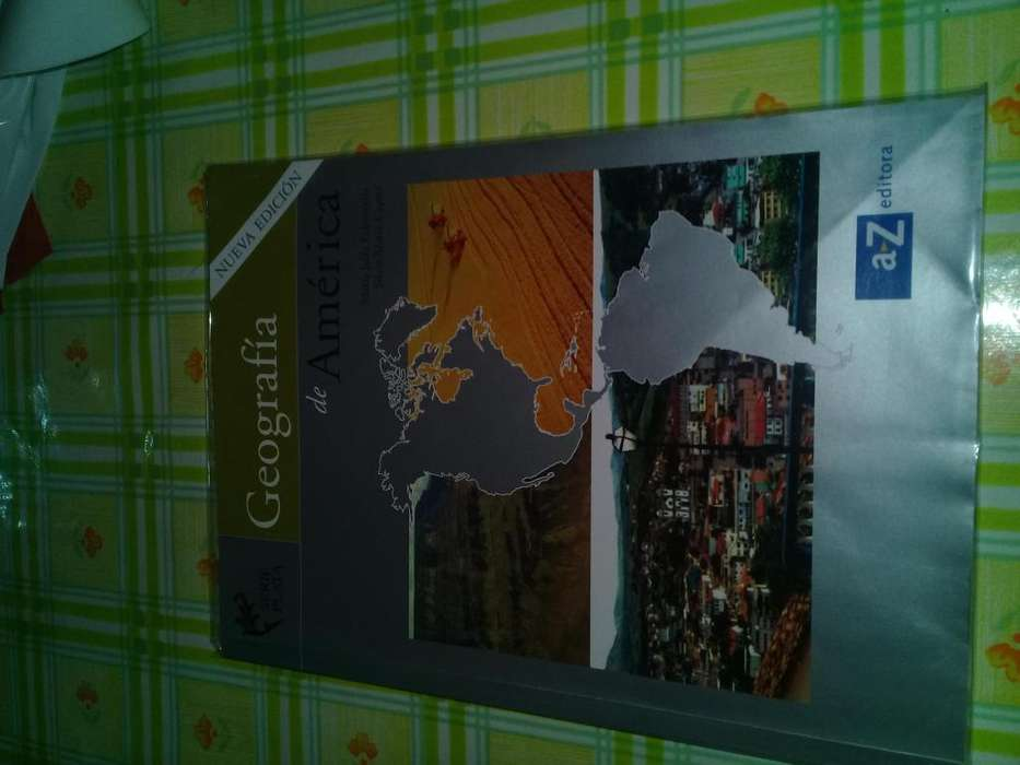 Vendo libro de Geografia de America