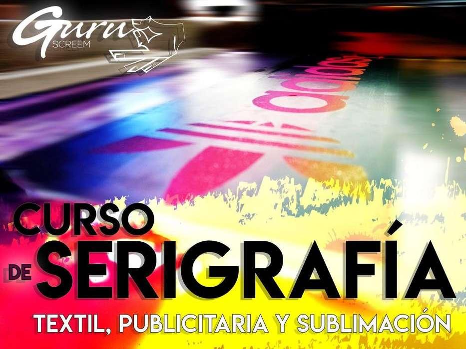 Cursos talleres <strong>seminario</strong>s de serigrafia textil publicitaria y sublimaciòn