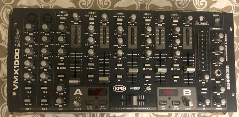 Mezcladora Behringer VMX1000USB