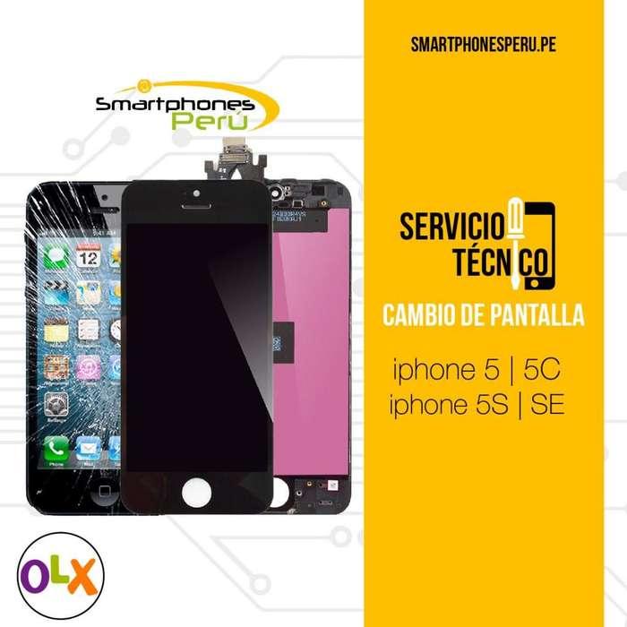 Cambio de Pantalla para iPhone 5SE 5C 5S 5 Apple Servicio técnico
