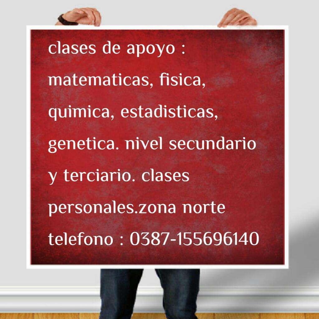 Clases de Quimica Fisica Matematicas