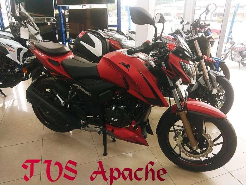MOTO TVS APACHE 200 OFERTA CHIMASA S.A.