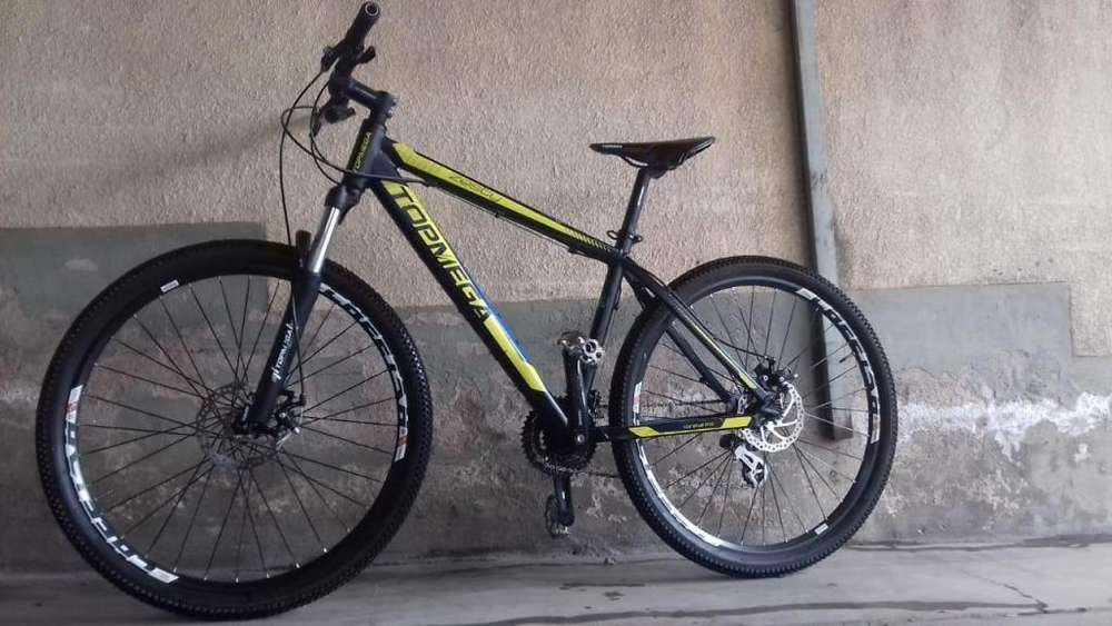 Bicicleta Mountain Bike TOPMEGA Zesty 27.5 IMPECABLE LIQUIDO!