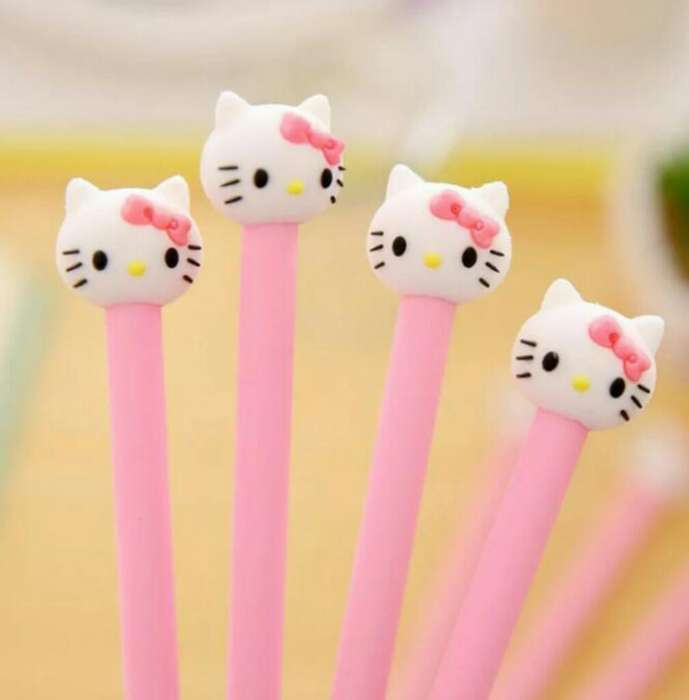 Lapiceros de Hello Kitty Tinta Gel Negro