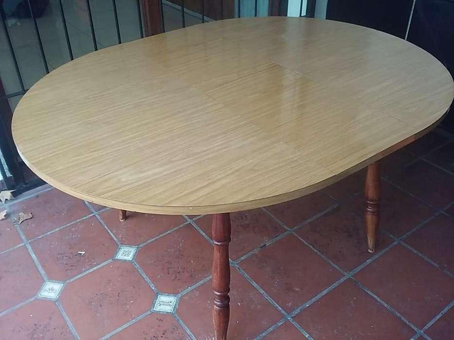 Mesa madera extensible muy buen estado!!
