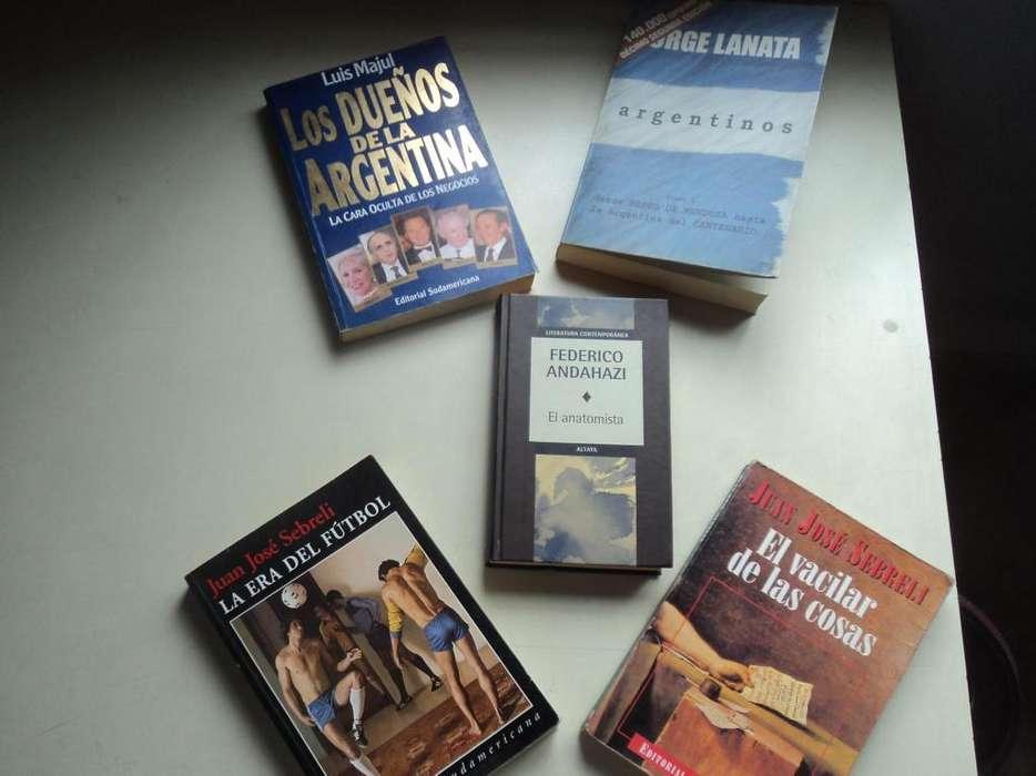Oferta 5 libros a 150