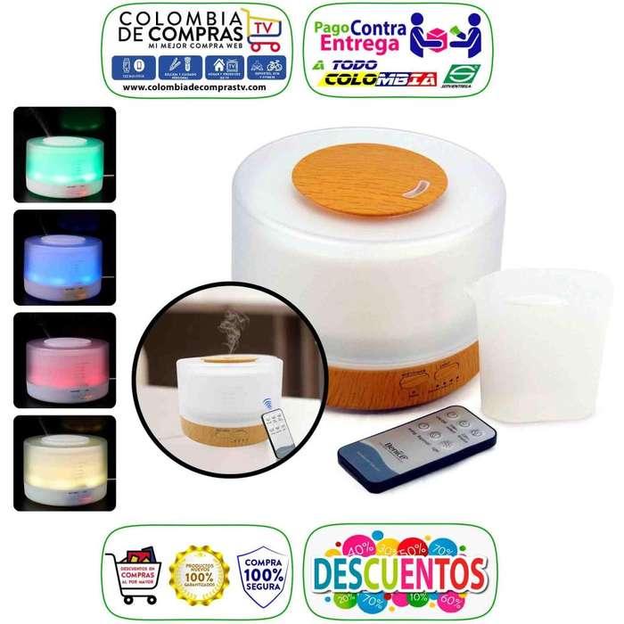 Difusor Aroma Tv 4 En 1 500ml Humidificador Ambientador, Nuevos, Originales, Garantizados