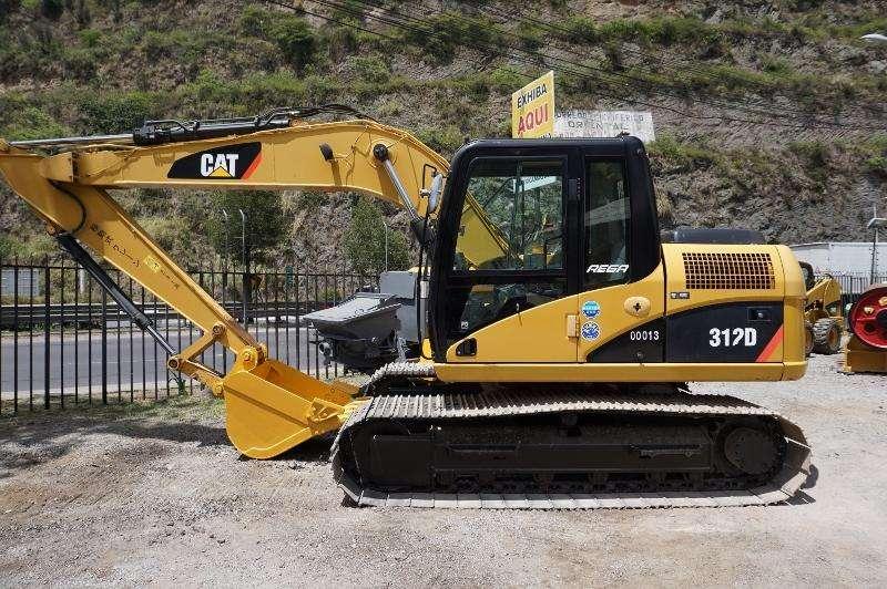 Excavadora Caterpillar 312D, 2012 Japonesa