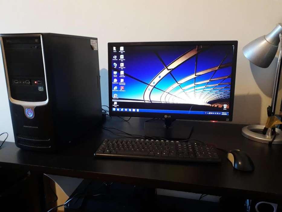Monitor LG Full HD CPU Intel I3 8gb Ram