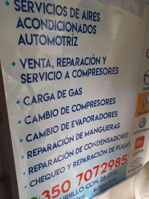 Nesecito Tenico en Refrijeracion de Auto