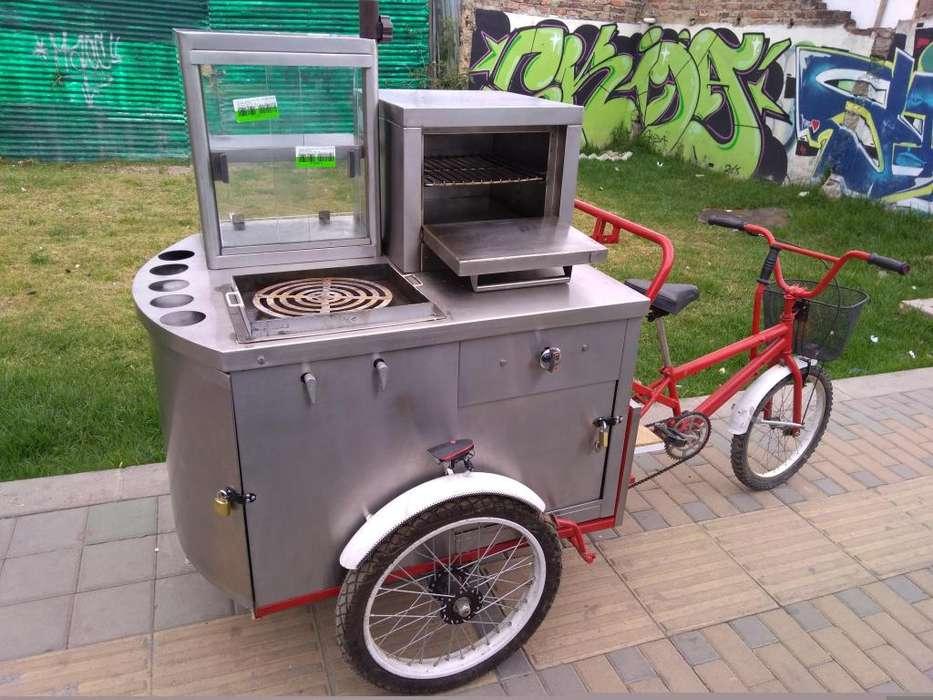 Triciclo comidas rapidas