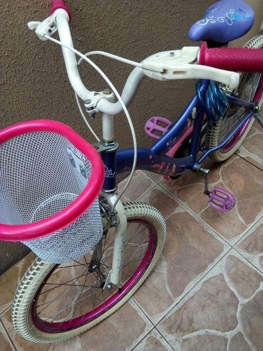 Bicicleta para Niña Muy Bonita