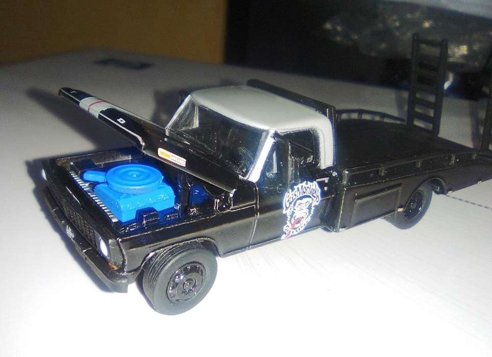 Greenlight Gas Monkey Garage 1970 Ford F-350 Ramp Truck similar Hot Wheels