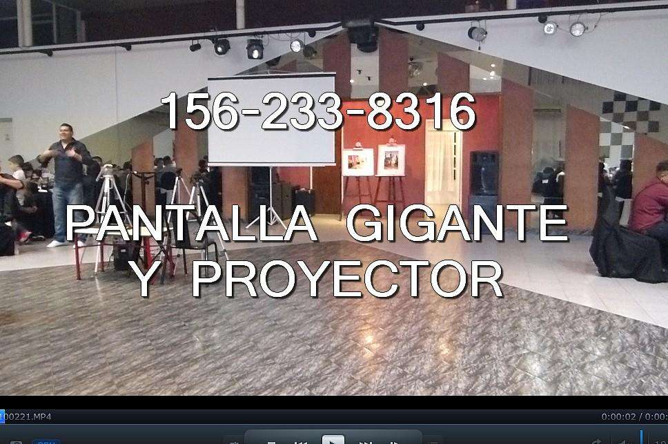 Alquiler Pantalla gigante dj Quilmes 199 te1551502656 FOTO Y VIDEO