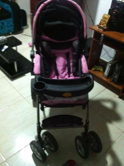 Vendo coche corral silla vibradora camita con toldillo y baera