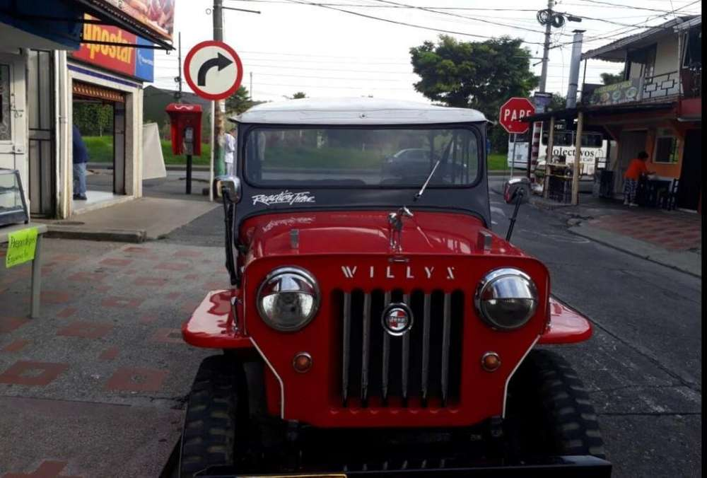 <strong>jeep</strong> Willys 1961 - 180000 km