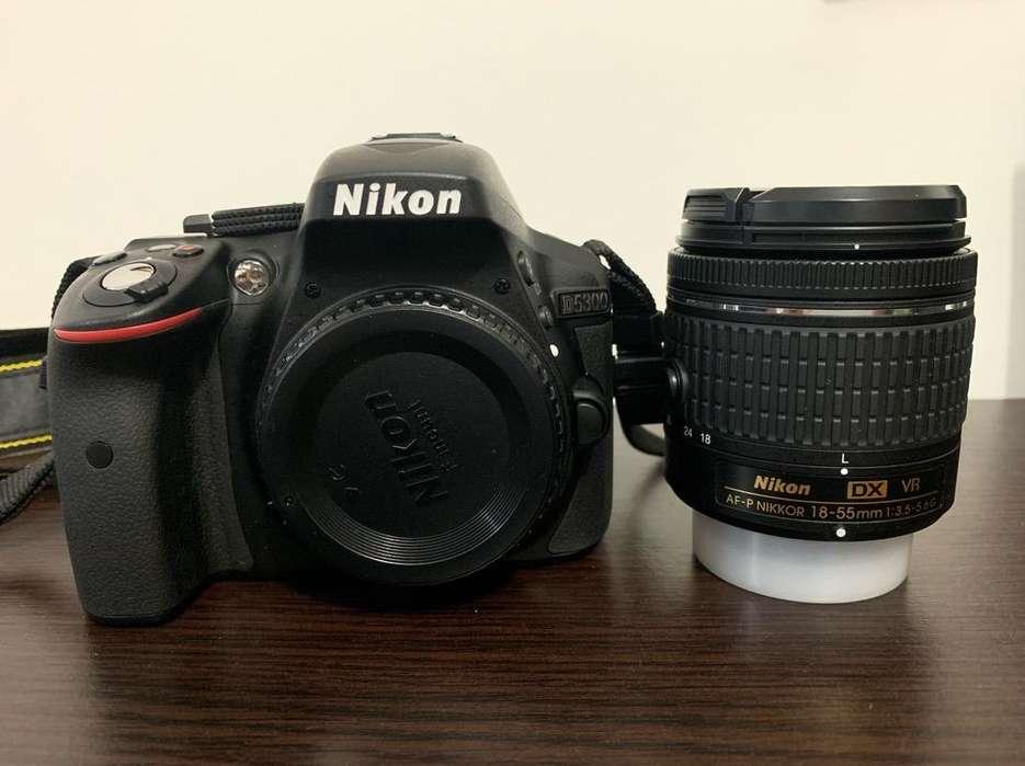Nikon 5300 Mas Lente 18/55