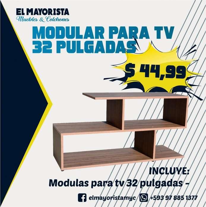 Promoción de modulares para tv de 32 pulgadas