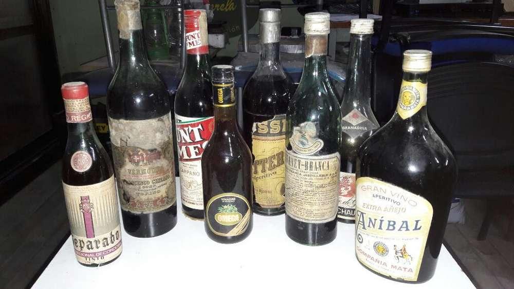 Botellas Coleccionables Lote de 18