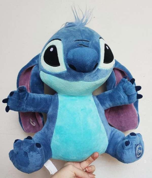 Stitch Peluche Disney Store Sello Bordad