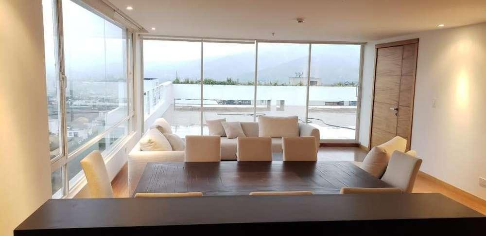Renta Dúplex Moderno con Terraza en Miravalle 4