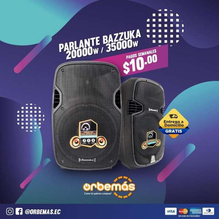 PARLANTE AMPLIFICADO BAZZUCA 20.000 W / 35.000 W