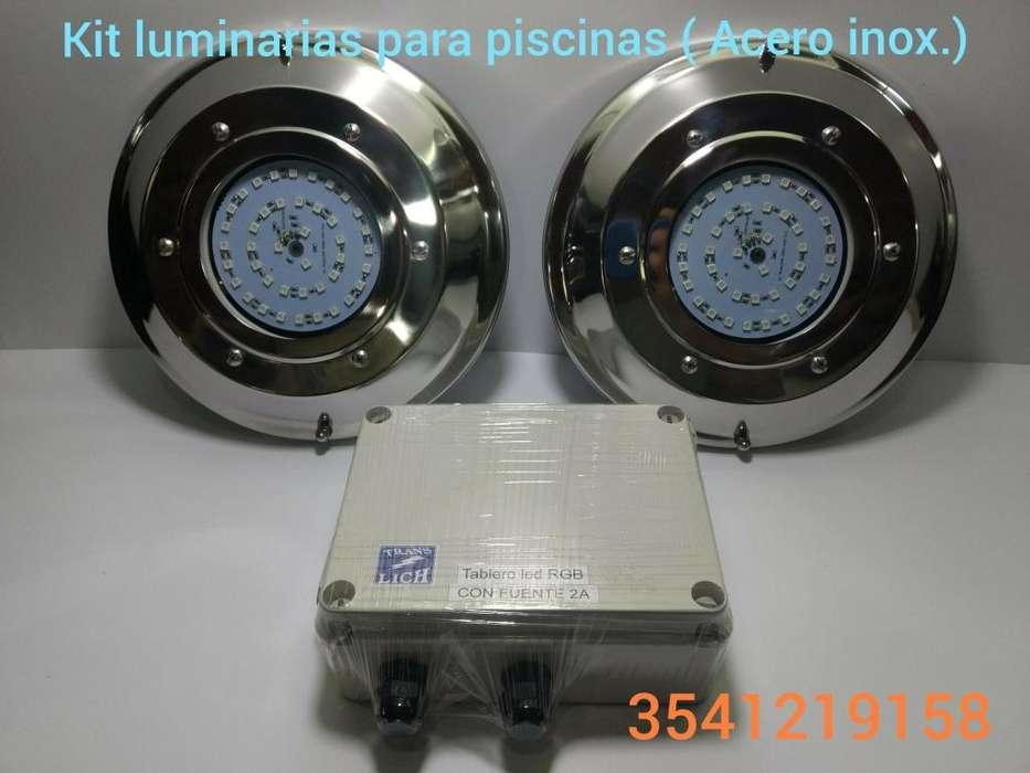 Iluminacin completa para <strong>piscina</strong>s